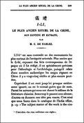 Charles DE HARLEZ (1832-1899) : I-li, le plus ancien rituel de la Chine, son contenu et extraits. Journal Asiatique, 1889, pages 229-270.