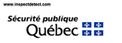 Toujours à la fût de nouvelles pour sa clientèle, votre inspecteur en bâtiment Daniel Gaudreau membre de l'AIBQ spécialisé en inspection préachat, prévente et préventive consulte le site du ministère de la sécurité publique du Québec