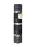 Impermeabilizante Prefabricado a base de asfalto modificado con Estireno Butadieno Estireno, extrablanco por su acabado hojuela extrablanca.
