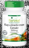 Kapuzinerkresse Extrakt 500mg von fairvital