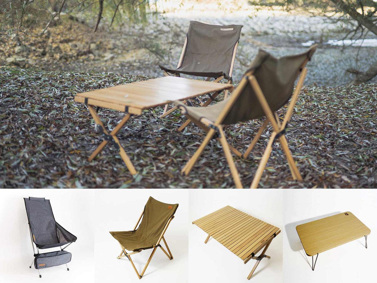 Camp-Life, Furniture, Stühle und Tische