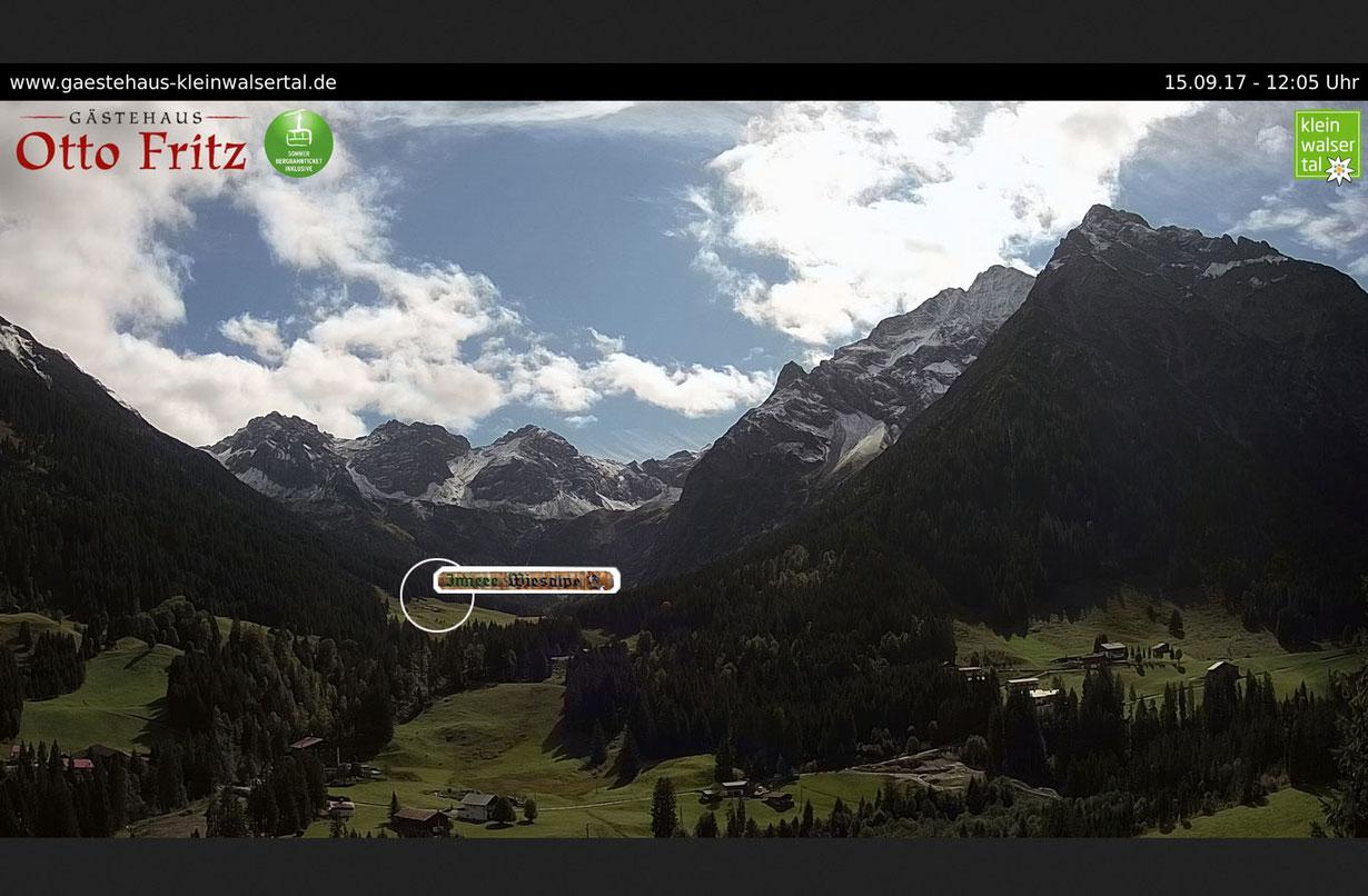 Innere Wiesalpe im Kleinwalsertal, Alpe, Ausflug, Brotzeit und Online Shop