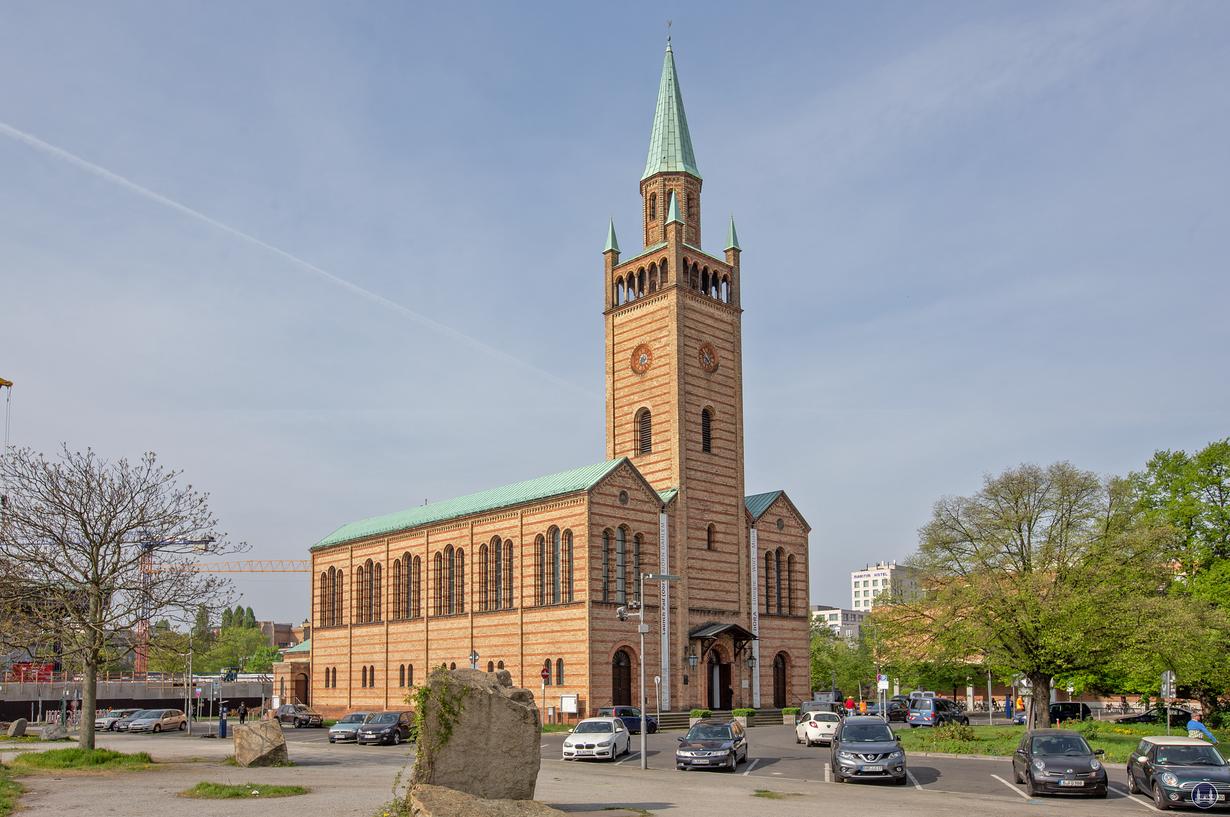 Die St. Matthäuskirche im Kulturforum
