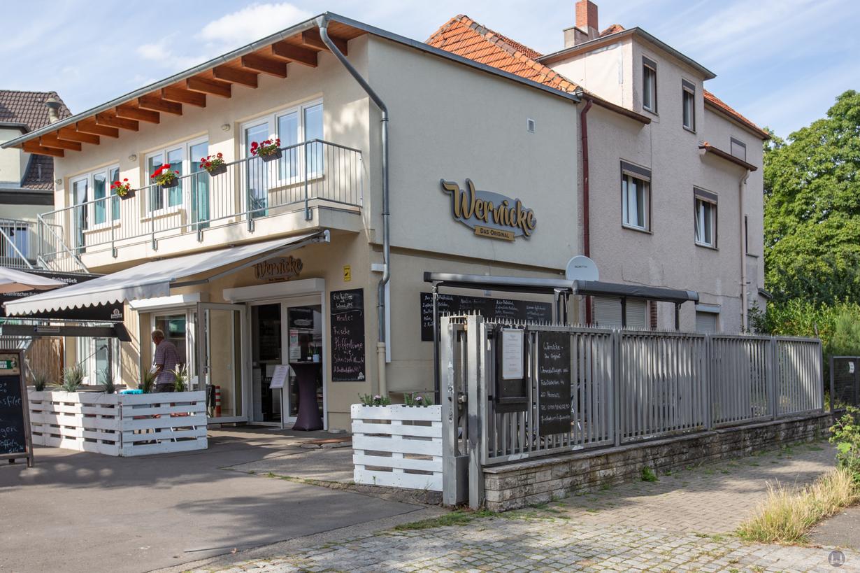 Das Restaurant Wernicke in der Goltzstraße 4 in Lichtenrade.
