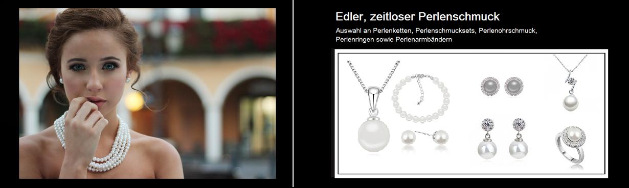 Perlenkette im Onlineshop von My Bijouterie online kaufen. Ausserdem Halsketten mit Perlenanhängern. Des Weiteren Perlenringe, Perlenohrstecker, Perlenohrhänger, Perlenschmucksets sowie Perlenarmbänder.