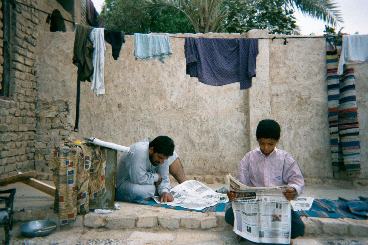 Ahmed Khalid, 11, Baghdad