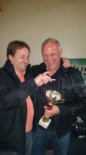 Berger Rudi (re.) mit Fan!