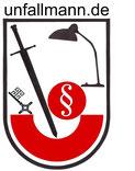 Logo der Gerechtigkeit, im Kampf um Unfallrente