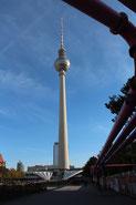 Fernsehturm am Alexanderplatz. Foto: Helga Karl