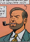 Blake et mortimer fume la pipe mais pas une Louis Vuitton