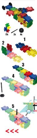 CLICS Baupläne 20-40 Teile
