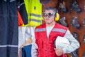 Versandreinigung-mueden.de, Geschäftskunden, Arbeitskleidung, Bild von Arbeitskleidung mit Reflektoren