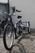 Dreirad für Erwachsene Heckdreirad