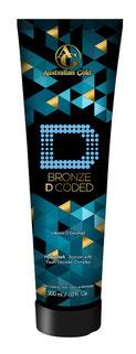 Bronze D Coded Pro VitamineD Ultra Australian Gold Zonnebank creme bronzer zoncosmetica DHA cosmetisch natuurlijk