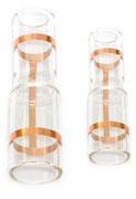 Glas-Reduzierung, Glasformteil