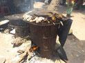 Ofen zur Fischräucherung