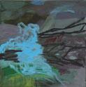 Gegenlicht 2009 20 x 20 cm Öl / Leinwand
