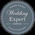 Label certification wedding expert pour l'agence d'organisation et de décoration de mariage Daydream Events