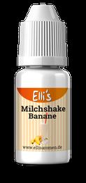 Bananenmilchshake mit nikotin, Bananenmilch als Liquid zum vapen selbst mischen und dampfen
