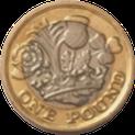 写真2 新1ポンド硬貨