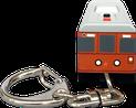 クロックキーライト 電車型/バス型 正面