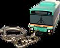 キーライト バス型 正面