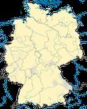 Karte zur Verbreitung der Rohrweihe (Circus aeruginosus) in Deutschland