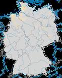 Karte zur Verbreitung der Sumpfohreule in Deutschland zur Brutzeit