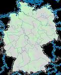 Karte zur Verbreitung der Sumpfohreule in Deutschland im Jahresverlauf