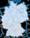 Karte zur Verbreitung der Spießente (Anas acuta) im Winter