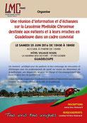 LMC France Guadeloupe reunion patient proche leucemie myeloide chronique