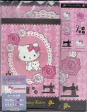 Scan meines Charmmy Kitty Briefpapiers