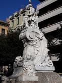 Уличная скульптура Барселоны. Памятник Фредерику Солеру