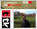 El calendario  Alejandro Gallard Prio en Turismo Tv, televisión turística