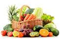 Obst,Gemüse individuell zusammenstellen