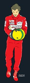 Rob Ayrton Senna by Muneta & Cerracín
