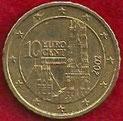 MONEDA AUSTRIA - KM 3085 - 10 CÉNTIMOS DE EURO - 2.002 - ORO NÓRDICO (EBC-/XF-) 0,60€.