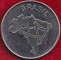 MONEDA BRASIL - KM 592.1 - 10 CRUZEIROS - 1.983 - ACERO INOXIDABLE (SC-/UNC-) 0,75€.