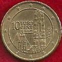 MONEDA AUSTRIA - KM 3139 - 10 CÉNTIMOS DE EURO - 2.008 - ORO NÓRDICO (MBC+/VF+) 0,75€.