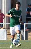 Iosu Villar, que este año ha dejado Coruxo para jugar en Ferrol, marcó el 1-0 ante el Avilés.