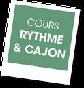 Atelier Rythme et cajon avec Jazz en Provence, A vous de jouer