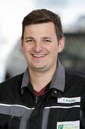Werkstattleiter Tim Fischer