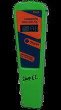 EC-Tester für die Bestimmung des EC- Werts in Hanferde, Substrate und Wasser
