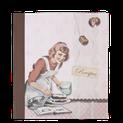 Rezeptbuch, Rezeptbücher, Dekoration, shabby chic, Landhausdekoration