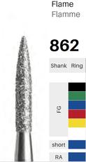 FG-Diamant 862, Flamme