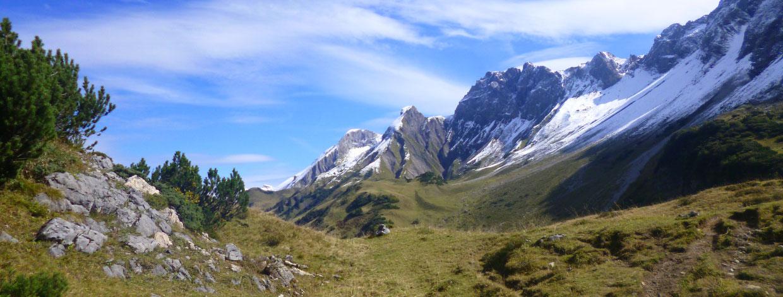 Hüttenwanderung Oberstdorf