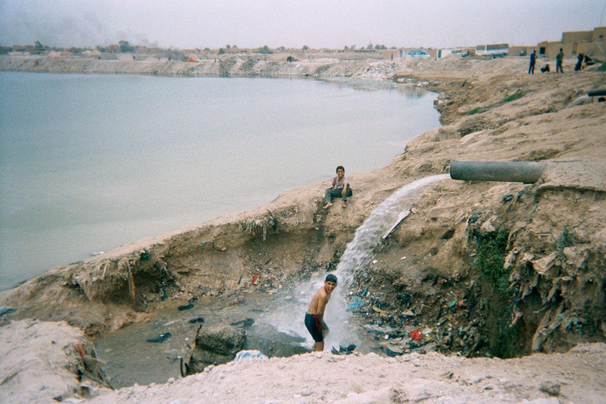 Saif Allah, 13, Baghdad