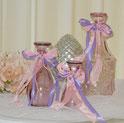 Flaschen Vase Tulpe Rosa