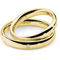 Fede Nuziale  in oro giallo con Diamanti Angelica e Orlando codice: anb1133g - prezzi sconti outlet - istanti di gioia