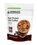 Eiskaffee mit hohem Proteingehalt, Mokka-Geschmack